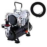 Master Airbrush 1/5 HP Compressor with Air Storage Tank Kit Model...