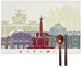 my cat Schöne Tischsets Tischset mit Catania Design Poster