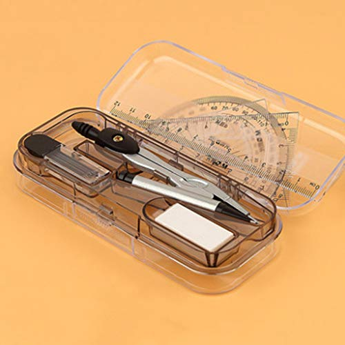 Kompass-Set - Multifunktions-Kompass-Set Für Schüler Jane Serie 7 Sets / 3 Gelschreiber Senden