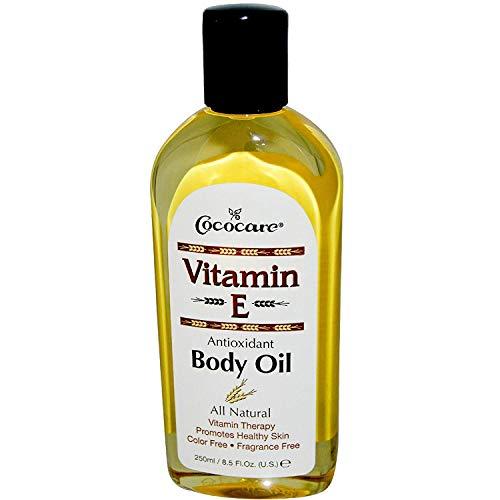 Cococare Vitamin-E Antioxidant Body Oil 8.5 Ounce (250ml) (3 Pack)