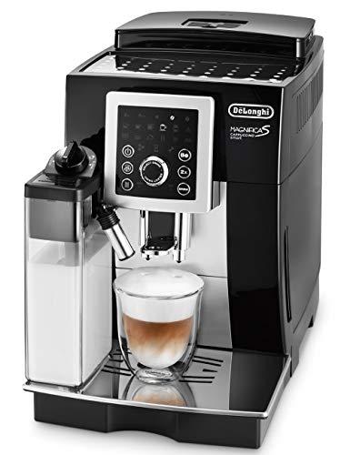 【スタンダードモデル】デロンギ(DeLonghi)コンパクト全自動コーヒーメーカー ブラック マグニフィカ S カ...