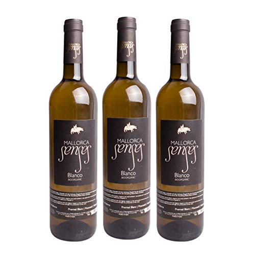 MALLORCA SENSES 3er Weinpaket *BLANCO* Jahrgang 2016 Bodegas Mallorca, Spanien - Weisswein trocken (3 x 0,75l)