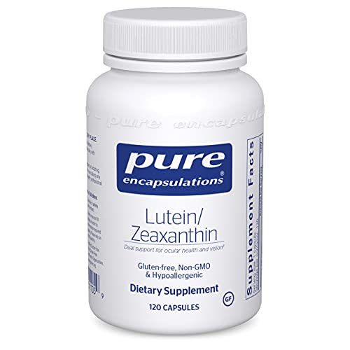 Pure Encapsulations Lutein/Zeaxanthin | Supplement to Support Overall Vision Function and The Macula* | 120 Capsules