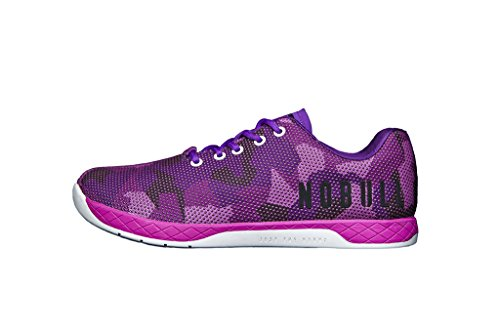 NOBULL Women's Purple Camo Trainer 7.5 US