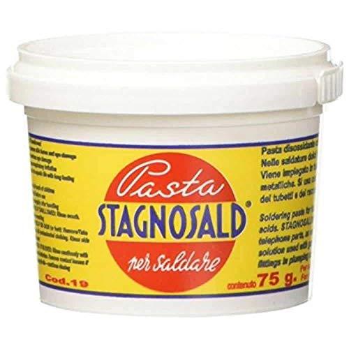 PASTA DISOSSIDANTE PER SALDATURA PASTA X SALDARE STAGNO STAGNOSALD GR. 75