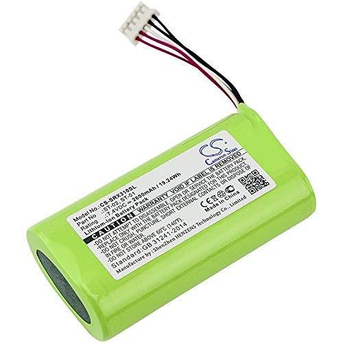 Cameron Sino Battery For Sony ST-01, ST-02; Fits Sony SRS-X3; Li-ion 7.40V 2600mAh/19.24Wh