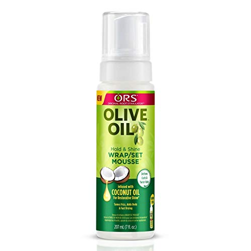 Ors Olive Oil Mousse Wrap/ Set 7 Ounce (207ml) (6 Pack)