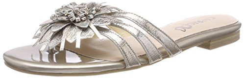 Caprice Damen Pantoletten, Silber (Silver Multi 925), 38.5 EU
