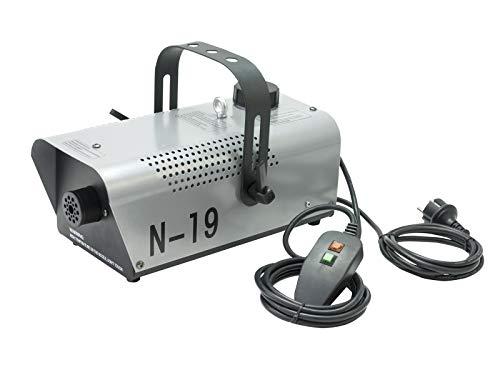 EUROLITE N-19 Nebelmaschine silber | Kompakte 700-Watt-Nebelmaschine in Silber