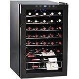 Syntrox Germany Digitaler Getränkekühlschrank Weinkühlschrank für 48 Flaschen 130 Liter