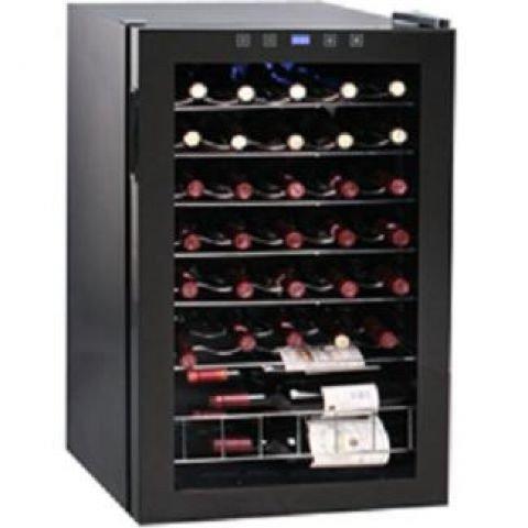 Syntrox Germany Cave à vin numérique pour 48 bouteilles 130 l