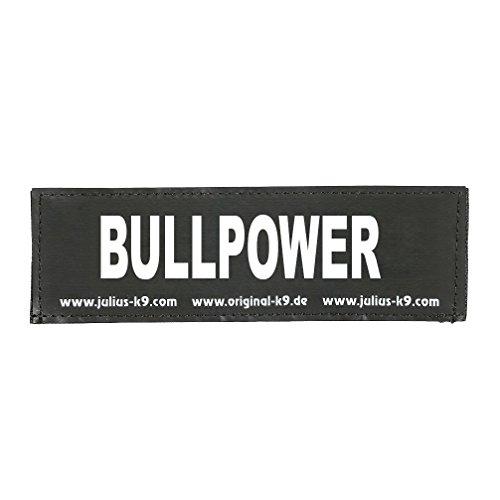 Julius-K9 162LR-K-35329 Klettaufschrift, Bullpower, klein, schwarz