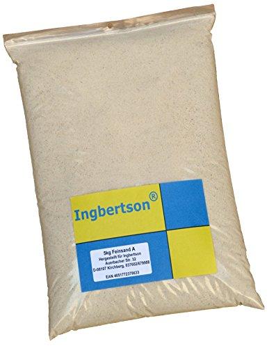 5kg Ingbertson® Fein-Filtersand 0,1-0,3 mm Quarzsand Fugensand