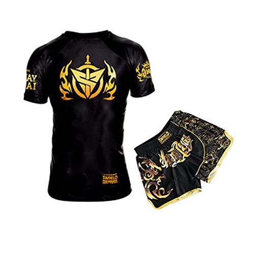 VSZAP Muay Thai Kampfsportanzug, kurz,...