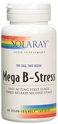 Solaray Mega B-Stress | 60 VegCaps