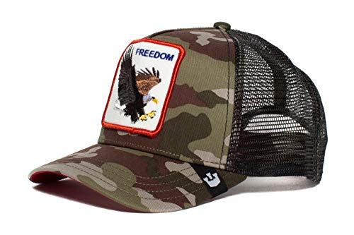 Goorin Bros. Trucker Cap Freedom Camouflage, Size:ONE Size