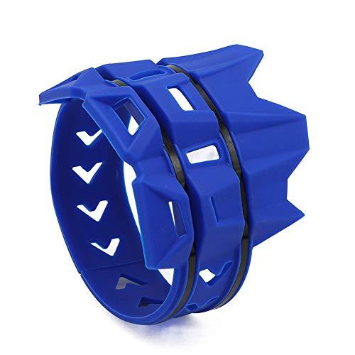 ROKOO Silenciador de Escape de Motocicleta Universal Protector Protector Resistente al Calor