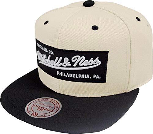 Mitchell & Ness Snapback Cap NE18Z MN OWN Beige Schwarz, Size:ONE Size