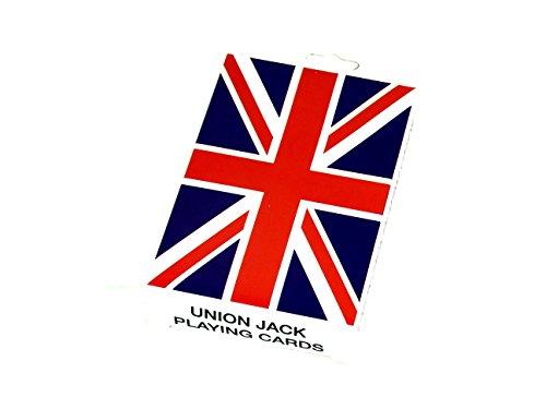 Charming, Collectible Union Jack Playing Cards Souvenir! Souvenir / Speicher / Memoria! Compact, Colourful Union Jack / British Flag Collectible Deck of Cards! A Memorable London Souvenir! Cartes à Jouer / Karten Spielen / Carte da Gioco / Jugando a Las Cartas!