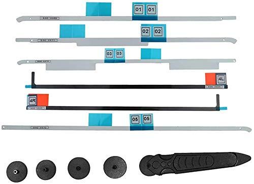 OLVINS Pantalla LCD Tiras Adhesivas+Manija de la Rueda de Apertura Kit de Herramientas de eliminación de Pantalla LCD para iMac 21.5'A1418 (076-1437 076-1416, 076-1422) (2012-Retina 4K 2015)