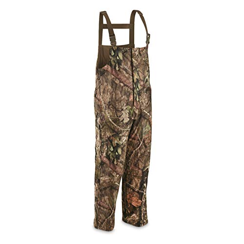 Guide Gear Men's Guide Dry Hunt Bibs, Waterproof, Insulated, Mossy Oak Break-Up Country, Medium