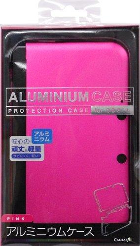 3DSLL用アルミニウムケース ピンク CA-3DLAC-PK