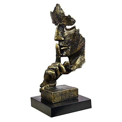 WLM Minimalist Creative Home Furnishings Ornamentshome Dekoration, dekorative Ornamente, Geschenke,Trompete Antike Bronze