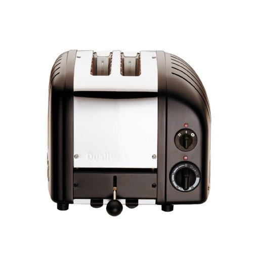 Dualit 2 slot NewGen 2slice(s) 1200W Negro - Tostador (2 rebanada(s), Negro, Aluminio, Acero inoxidable, 1200 W, 3,5 kg, 260 x 210 x 220 mm)