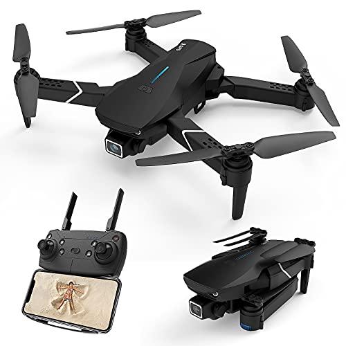 DOMIBOT 520-S3 Drone con Telecamera 4K Pieghevole GPS 5G WiFi Controllo App RTF Principiante Mantenimento dell Altitudine modalità Senza Testa