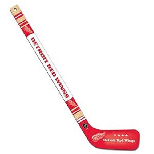 Hunter Mfg Detroit Redwings rote Flügel NHL Hockey Team Mini Holz Hockeyschläger