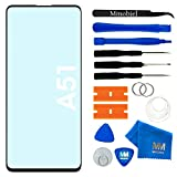 MMOBIEL Front Glass Repair kit Compatible with Samsung Galaxy A51 A515,Samsung Galaxy M31s 6.5 inch 2020 (Black)