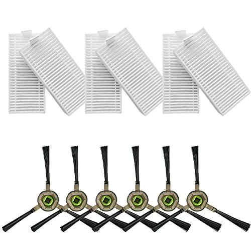 OKP Sidebrush and HEPA Filter Replacement Set K2 Robot Vacuum Cleaner