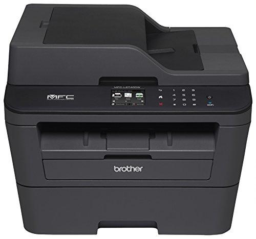 Impressora Monocromática Laser Brother MFCL2740DW, Preto