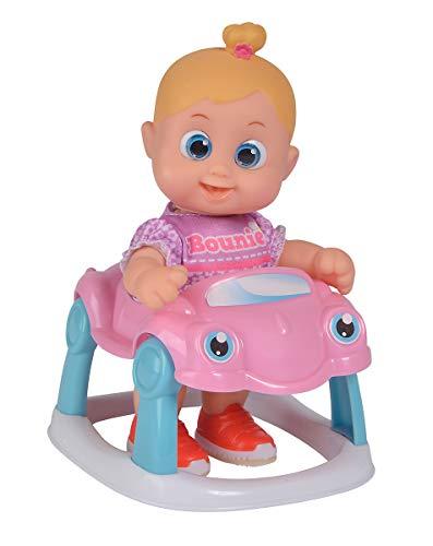 Simba 105143327 Bouncin Babies Little Bonny met babywalker, één maat