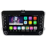 [pour Volkswagen/VW] ATOTO A6 Pro A6YVW721PRB Navigation Audio/vidéo de Voiture Double DIN Android- 2X Bluetooth avec aptX - Téléphone Portable à Charge - Autoradio Multimedia, WiFi, etc.