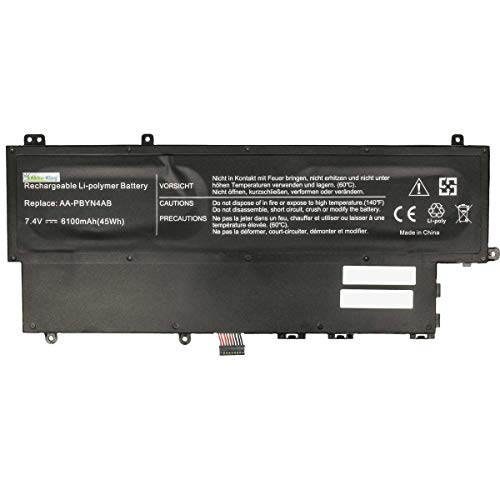 Akku kompatibel mit Samsung 530U NP530U3B NP530U3C 535U NP535U3C 540U NP540U3C - ersetzt AA-PBYN4AB, AA-PLWN4AB - Li-Polymer 6100mAh