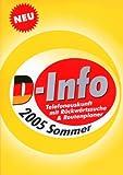 D-Info vor und zurück + Route 2005 Sommer -