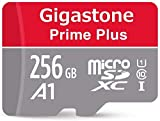 Gigastone 256GB Micro SD Card with Adapter, A1 Run App for Smartphone, High speed Full HD available, Micro SDXC UHS-I U1 C10 Class 10 95MB/s Memory Card