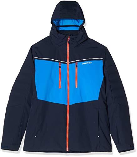 Ziener Herren TENGI Jacket ski Skijacke, Blue Navy, 60