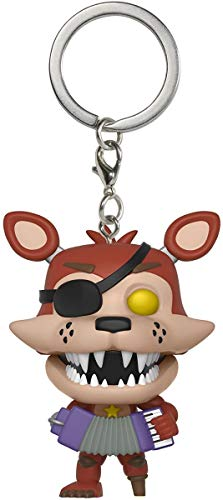 Pop! Five Nights At Freddys - Keychain Rockstar Foxy