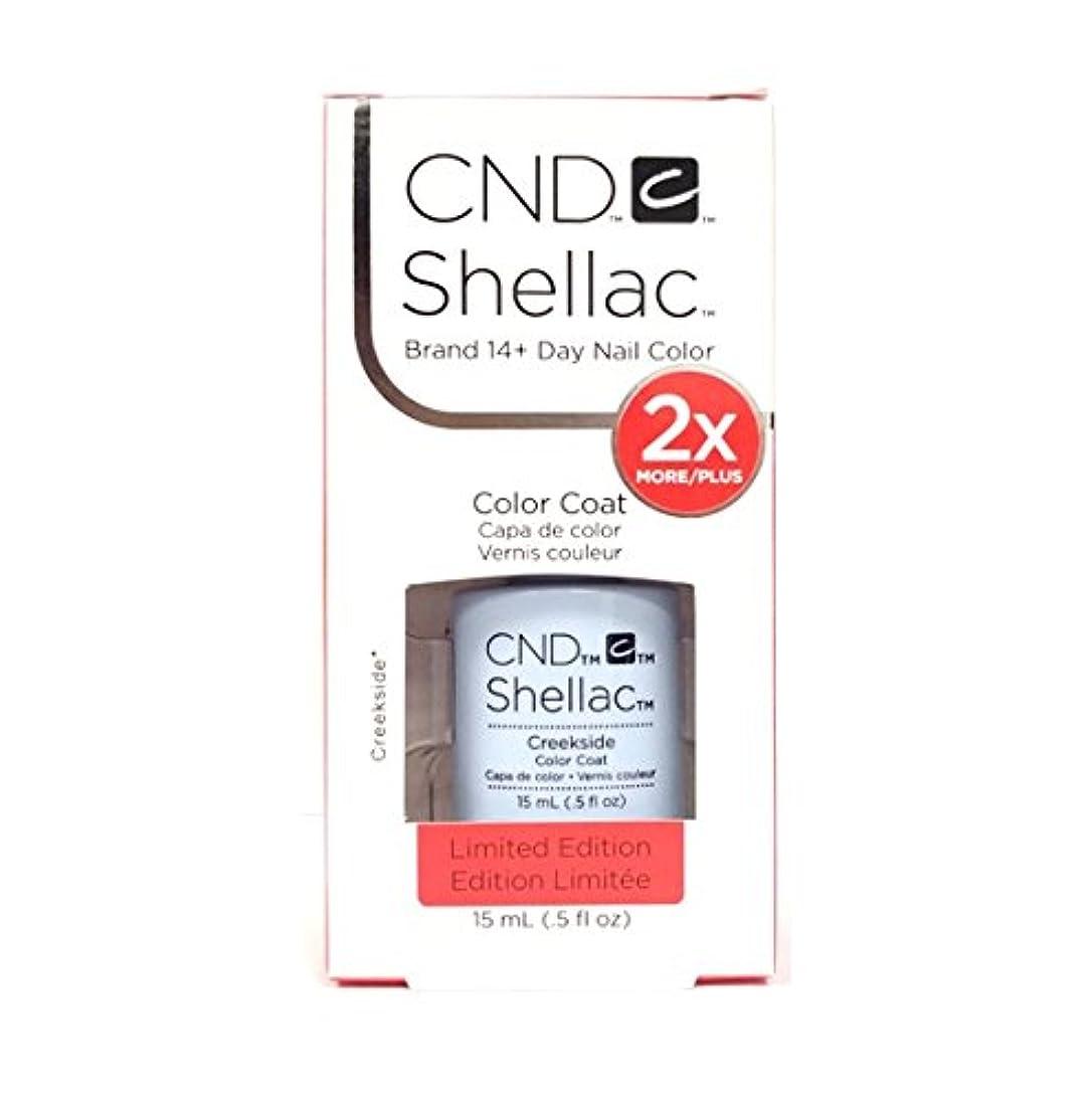 に対処するトーナメント週間CND Shellac - Limited Edition! - Creekside - 15ml / 0.5oz