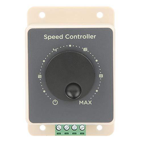 Interruptor del controlador de velocidad del motor PWM DC, gobernador del motor, 12V/24V/36V/48V 20A, interruptor de control de velocidad del motor de alta potencia