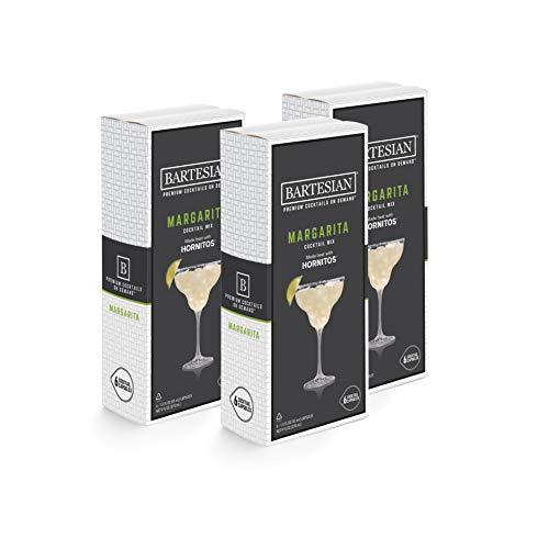 Bartesian Margarita Cocktail Mixer Capsules, Pack of 18...