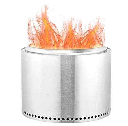 キャンプストーブ 薪ストーブ焚き火台バーベキューコンロ 暖房ストーブ調理器具ステンレス鋼軽量 小型 携帯焚火台 二次燃焼 屋外ストーブウッドストーブコンパクト多機能ストーブピクニック調理炉防風燃料不要 キャンプ BBQ登山用アウトドア (A)