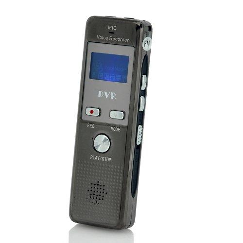 Shopinnov–Micrófono espía grabador de 4GB Radio FM Grabador de Telefónica