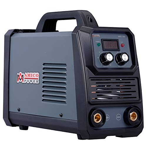 Amico ARC-160, Professional 160-Amp Stick Arc Lift-TIG Welding Machine, 80% Duty Cycle, 100-250V Wide Voltage Welder