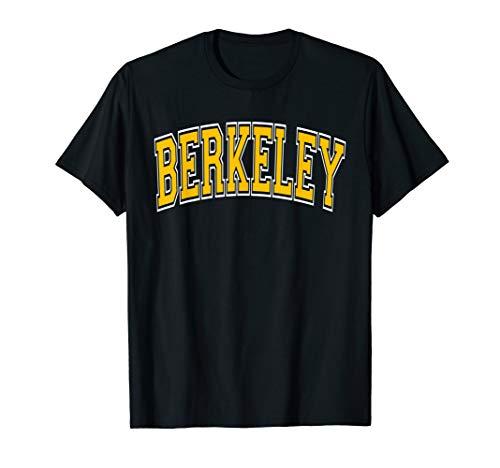 Berkeley Varsity Style Amber Text T-Shirt