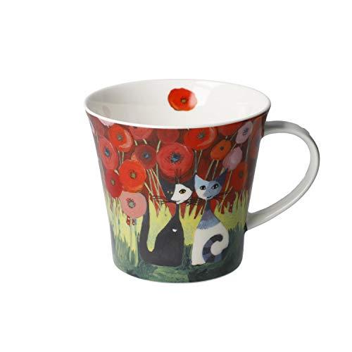 Goebel Innamorati tra i papaveri - Coffee-/Tea Mug Tasse Rosina Wachtmeister Katzen NEUHEIT 2020
