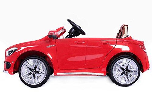 RC Auto kaufen Kinderauto Bild 2: Mercedes CLA 45 AMG Elektroauto Kinderelektroauto Elektrofahrzeug. Farbe: Rot*