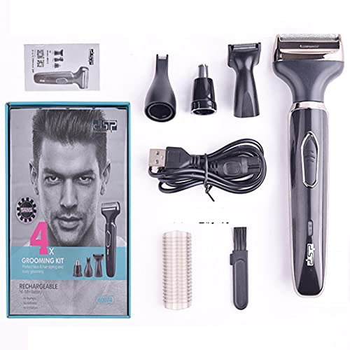 Body Hair Trimmer for Men, Portable Recharge Operated Groin Area Body, Ultimate Male Hygiene Razor, It can Also Repair Nose Hair, sideburns, Eyebrows